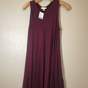 NWT Maroon Urban Outfitters swing dress size small